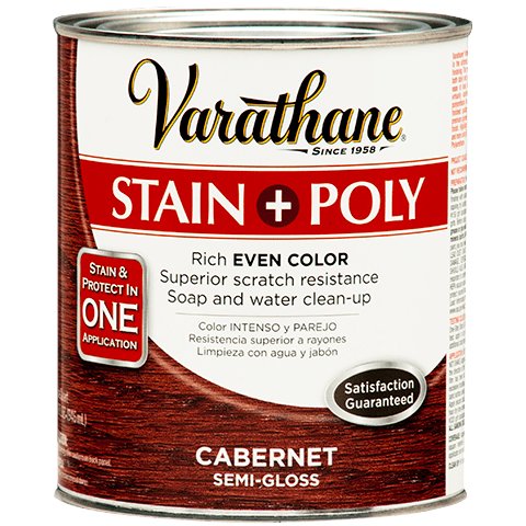 Varathane One Step Stain Polyurethane Water Based Product Page